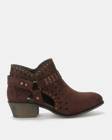 Footwork Kim Ankle Boot Brown