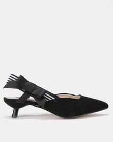 Footwork Sheba Slingback Kitten Black