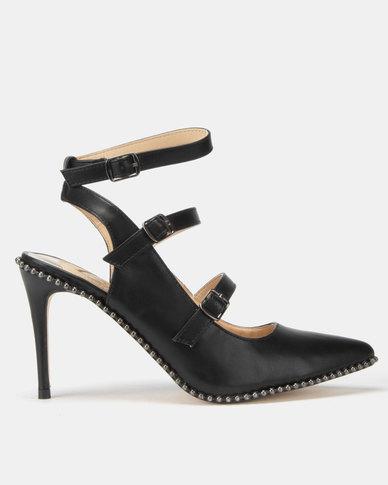 Footwork Clarissa Heel Black