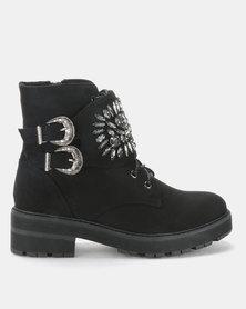 Footwork Sabreena Ankle Boot Black