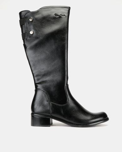 Pierre Cardin Basic Riding Boots Black