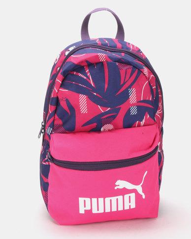 Puma Sportstyle Core Phase Small Backpack Fuchsia Purple