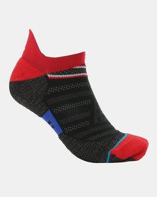 Stance Performance Slanted Tab Socks Red