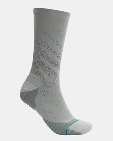Stance Stance Performance Uncommon Run Crew Socks Grey