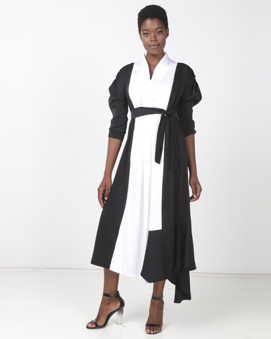 Judith Atelier Lola Dress Ivory/Black