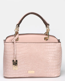 Miss Black Adora Handbag  Pink