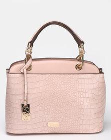 Miss Black Adora Handbag  Pink