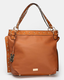 Miss Black Baez Shopper Bag  Tan
