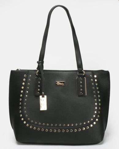 Miss Black Klara Shopper Bag  Black