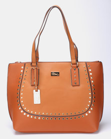 Miss Black Klara Shopper Bag  Tan