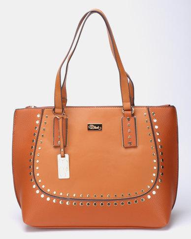 Miss Black Klara Shopper Bag  Tan