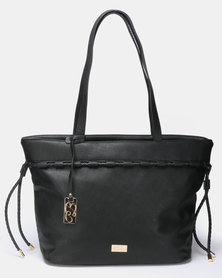 Miss Black Manhattan Tote Bag Black
