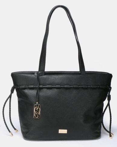 Miss Black Manhattan Tote Bag Black