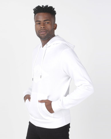 Lee Cooper M Zico Hooded Sweat Top White
