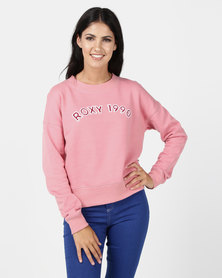 Roxy Maybe Someday Sweater Pink