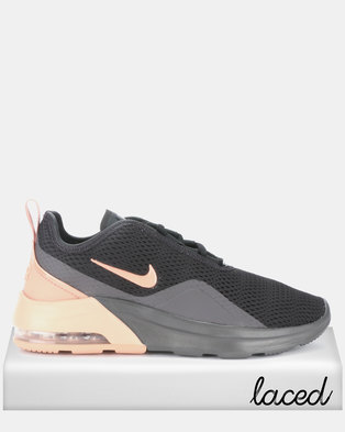 a61aba63eae8 Nike Women s Nike Air Max Motion 2 Sneakers Black Rose Gold Thunder Grey