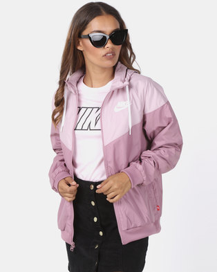 74158572a52c Nike W NSW WR Jacket Plum Dust Plum Chalk