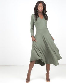 Nucleus Serendipity Dress Olive