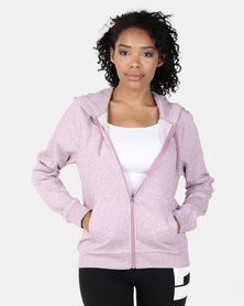 NIKE W NSW Hoodie Fleece Purple