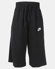 Nike B NSW Jersey Shorts Black/White