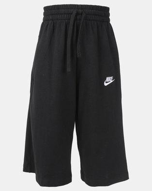 7cbbd4abb1 Nike B NSW Jersey Shorts Black White