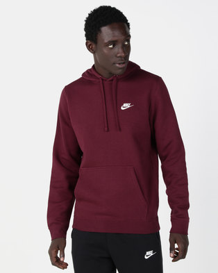 f410034633f4 Nike M NSW Club PO BB Hoodie Red