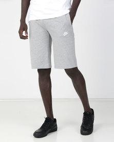 Nike M NSW Club Jersey Shorts Grey