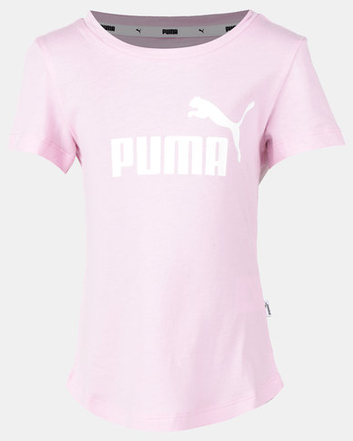 Puma Sportstyle Core Essential Tee Pale Pink