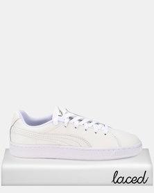 Puma Sportstyle Prime Basket Crush Emboss Sneakers White/Silver
