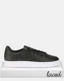 Puma Sportstyle Prime Basket Crush Emboss Sneakers Black/Gold