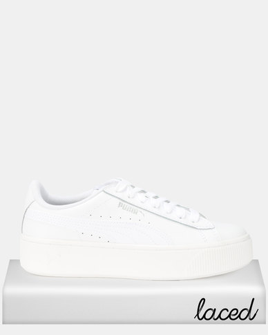 Puma Sportstyle Core Vikky Stacked L Sneakers White