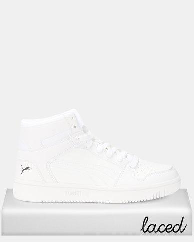 Puma Sportstyle Core Rebound LayUp SL Sneakers Puma White-Puma Black