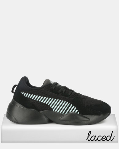 Puma Sportstyle Prime Zeta Suede Sneakers Puma Black Light Sky