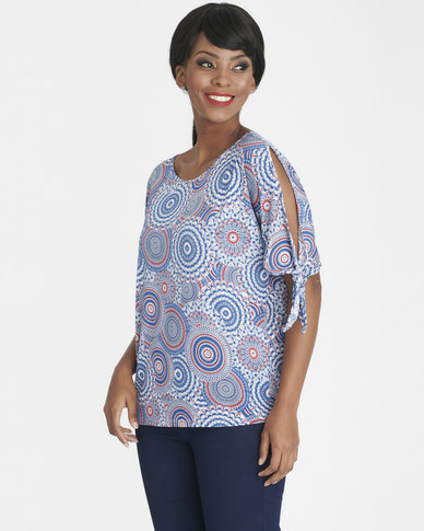 Contempo Slinky Top Red