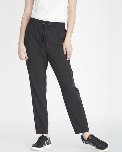 Contempo Soft Crepe Pants Black