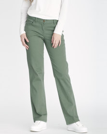 Contempo 5 Pocket Trousers Khaki