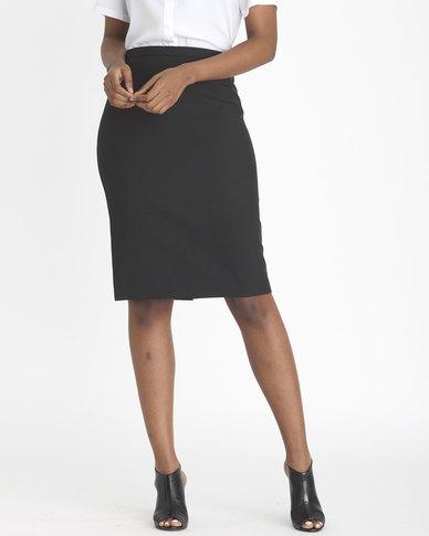 Contempo City Skirt Black