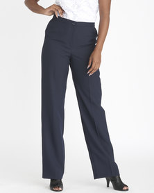 Contempo City Elastic Pant Navy
