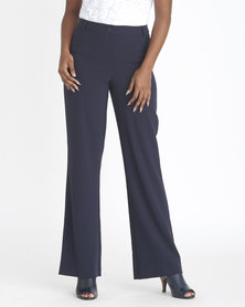 Contempo 2 Way Bootleg Pant Navy