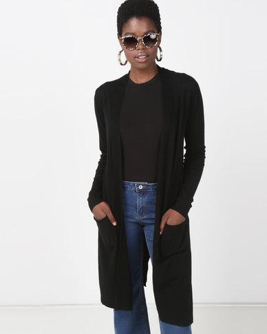 G Couture Coatigan Black