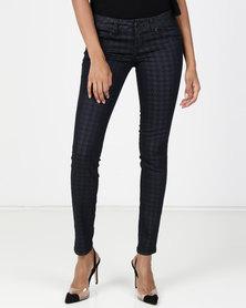 Vero Moda Nourish Roar X-Slim Jeans Dark Blue Denim