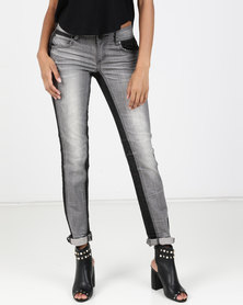 Vero Moda Laurel X-Slim Jeans Grey Denim