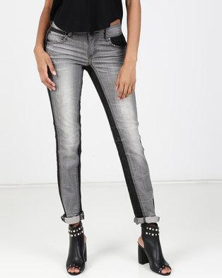 Vero Moda Laurel X-Slim Jeans Grey Denim
