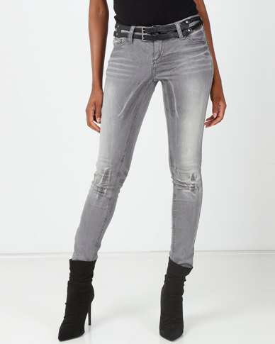 Only New Baby Second Skin Denim Jeans Light Grey