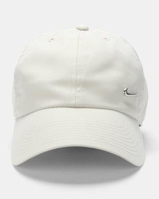 2172af61999 Nike U NK H86 Cap NK Metal Swoosh Grey