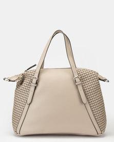 Bata Ladies Fashion Handbag Taupe