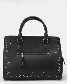 Bata Ladies Shoulder Handbag Black