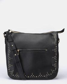 Bata Ladies Fashion Shoulder Handbag Black