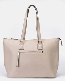 Bata Ladies Executive  Handbag Taupe