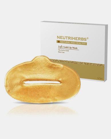 Neutriherbs 24K Gold Lip Masks 5 Pack